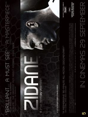 Zidane, un portrait du XXIe siècle - poster (thumbnail)