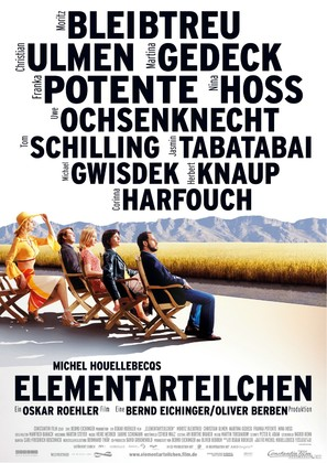 Elementarteilchen - German Movie Poster (thumbnail)