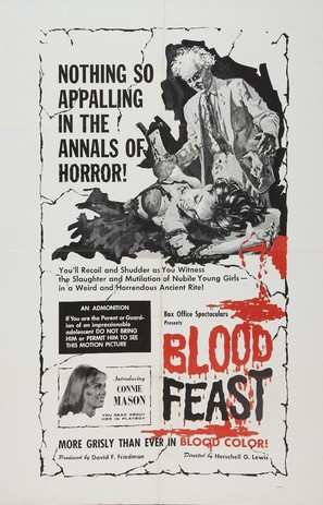 Blood Feast - Movie Poster (thumbnail)