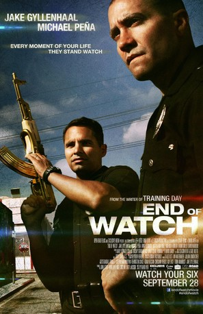 End of Watch - Movie Poster (thumbnail)