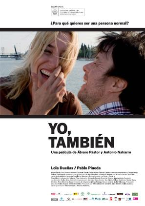 Yo, también - Spanish Movie Poster (thumbnail)