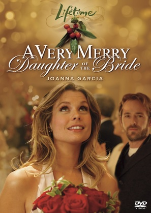 A Very Merry Daughter of the Bride - DVD cover (thumbnail)