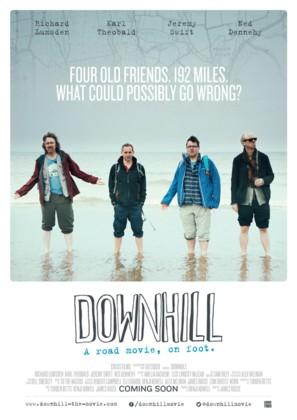 Downhill - British Movie Poster (thumbnail)