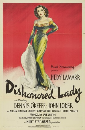 Dishonored Lady - Movie Poster (thumbnail)
