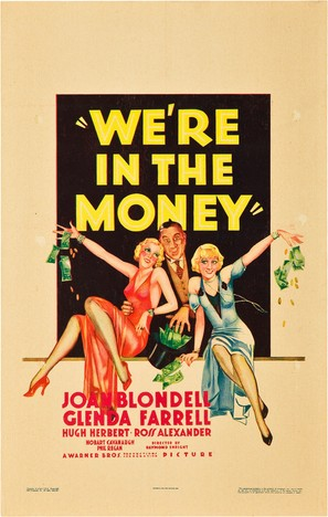 We're in the Money - Movie Poster (thumbnail)