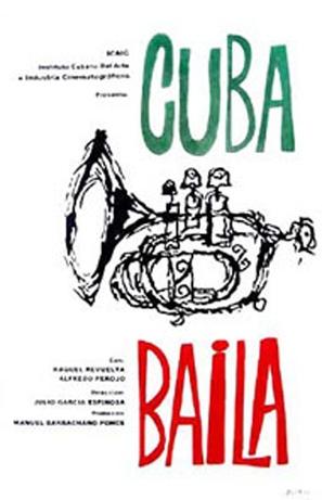 Cuba baila - Cuban Movie Poster (thumbnail)