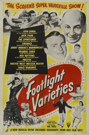 Footlight Varieties - Movie Poster (thumbnail)