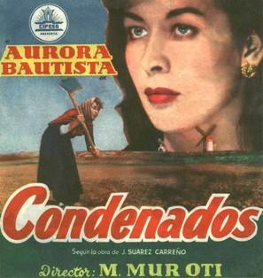 Condenados - Spanish Movie Poster (thumbnail)