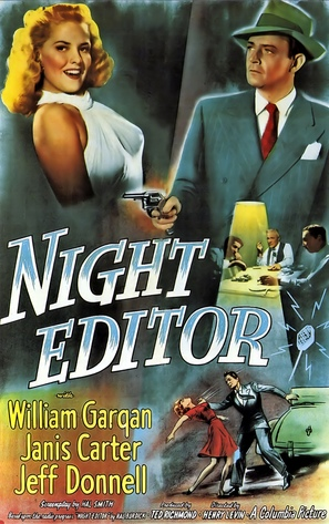 Night Editor - Movie Poster (thumbnail)