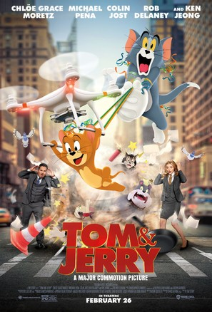 Tom and Jerry - Movie Poster (thumbnail)