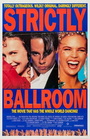 Strictly Ballroom - Movie Poster (thumbnail)