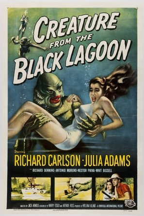 Creature from the Black Lagoon - Movie Poster (thumbnail)