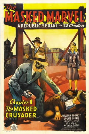 The Masked Marvel - Movie Poster (thumbnail)