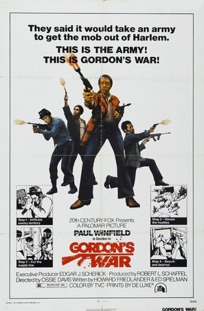 Gordon's War - Movie Poster (thumbnail)