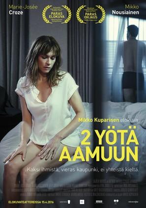 2 yötä aamuun - Finnish Movie Poster (thumbnail)
