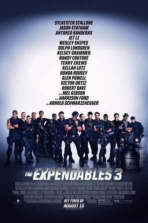 The Expendables 3 - Movie Poster (thumbnail)