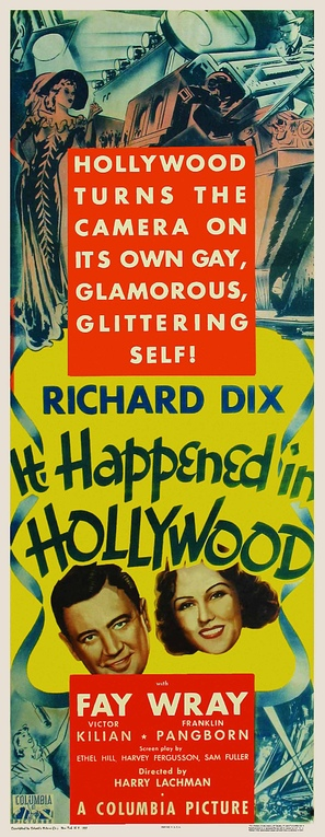 It Happened in Hollywood - Movie Poster (thumbnail)