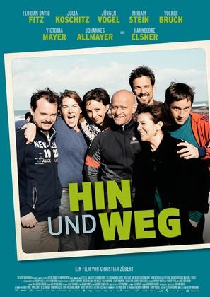Hin und weg - German Movie Poster (thumbnail)