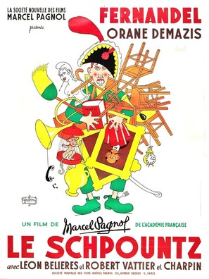 Schpountz, Le - French Movie Poster (thumbnail)