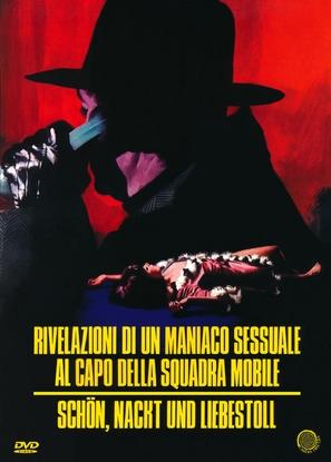 Rivelazioni di un maniaco sessuale al capo della squadra mobile - German DVD movie cover (thumbnail)