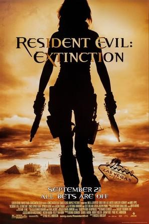 Resident Evil: Extinction - Theatrical poster (thumbnail)
