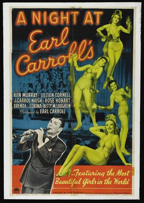 A Night at Earl Carroll's - Theatrical poster (thumbnail)