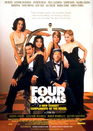 Four Rooms - Movie Poster (thumbnail)