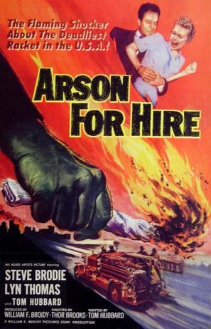 Arson for Hire - Movie Poster (thumbnail)