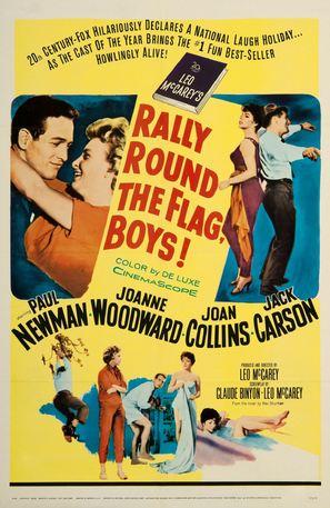 Rally 'Round the Flag, Boys! - Movie Poster (thumbnail)