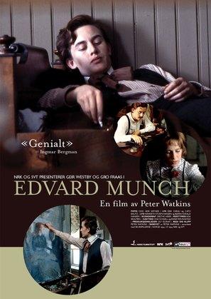 Edvard Munch - Norwegian Movie Poster (thumbnail)
