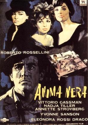 Anima nera - Italian Movie Poster (thumbnail)