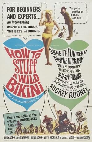 How to Stuff a Wild Bikini - Movie Poster (thumbnail)