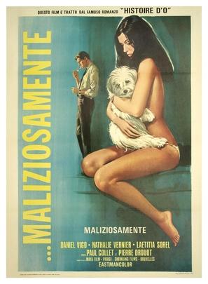 L'etreinte - Italian Movie Poster (thumbnail)