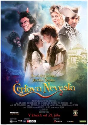 Certova nevesta - Slovak Movie Poster (thumbnail)