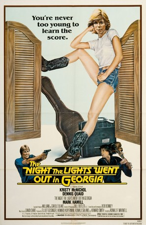 The Night the Lights Went Out in Georgia - Movie Poster (thumbnail)