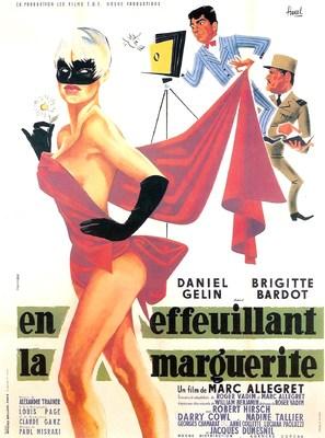 En effeuillant la marguerite - French Movie Poster (thumbnail)