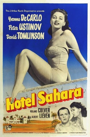 Hotel Sahara - British Movie Poster (thumbnail)