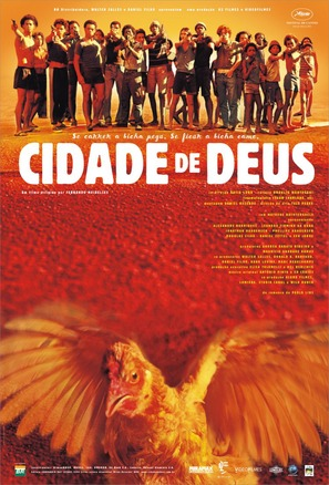 Cidade de Deus - Brazilian Movie Poster (thumbnail)