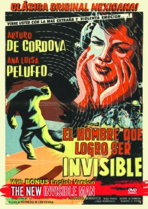 El hombre que logró ser invisible - Mexican Movie Poster (thumbnail)