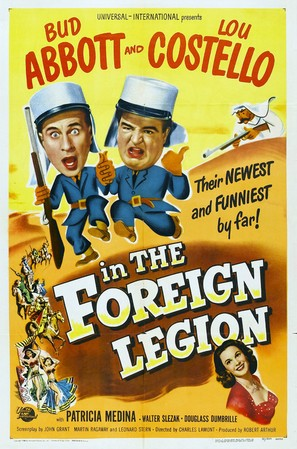 Abbott and Costello in the Foreign Legion - Movie Poster (thumbnail)