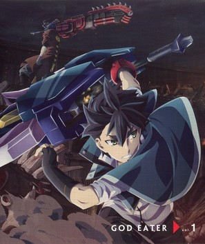 """God Eater"" - Japanese Blu-Ray cover (thumbnail)"