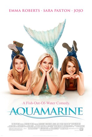 Aquamarine - Movie Poster (thumbnail)