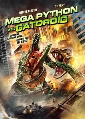 Mega Python vs. Gatoroid - DVD movie cover (thumbnail)