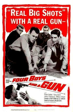 Four Boys and a Gun - Movie Poster (thumbnail)