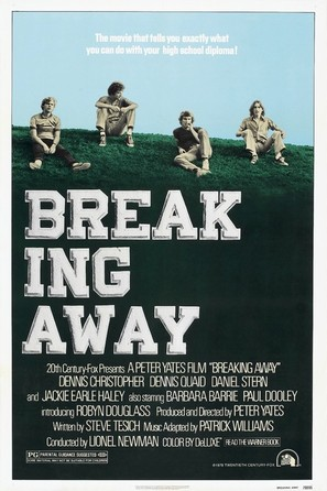 Breaking Away - Movie Poster (thumbnail)
