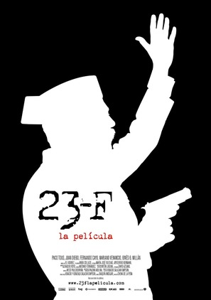 23-F, la película - Spanish Movie Poster (thumbnail)