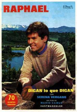 Digan lo que digan - Spanish Movie Poster (thumbnail)