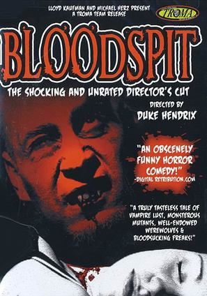 Bloodspit - DVD cover (thumbnail)