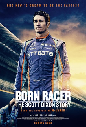 Born Racer - New Zealand Movie Poster (thumbnail)