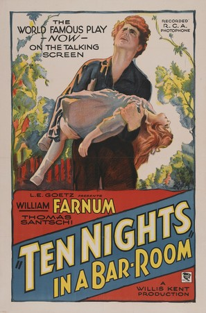 Ten Nights in a Barroom - Movie Poster (thumbnail)